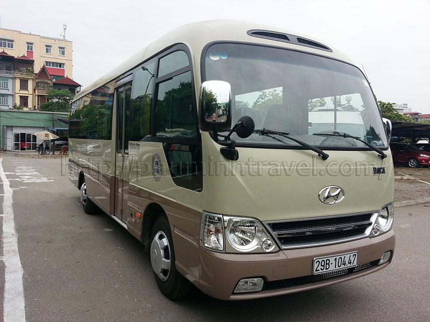 Cho thuê xe 29 chỗ Hyundai Hà Nội