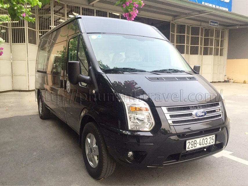 Cho thuê xe tháng 16 chỗ giá rẻ tại Hà Nội