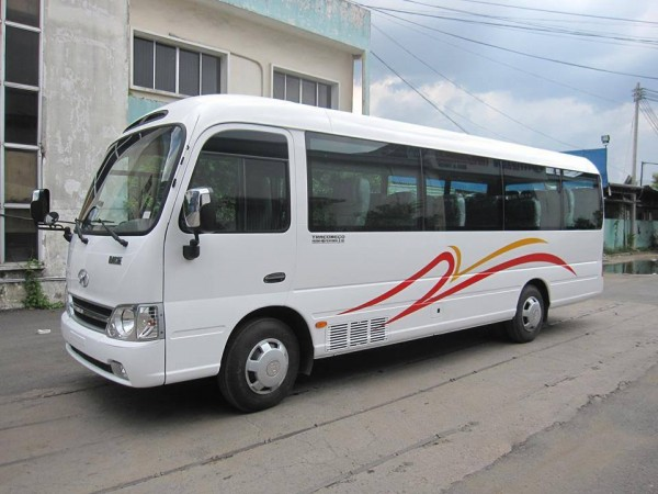Cho thuê xe 29 chỗ Hyundai County Thaco