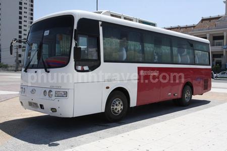 Cho thuê xe cưới Hyundai Aero 35 chỗ