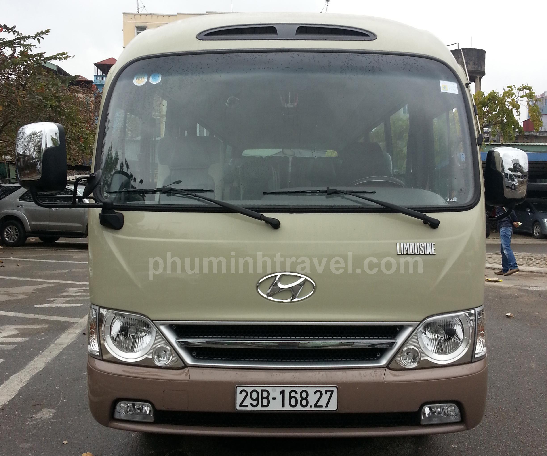 Cho thuê xe cưới Hyundai 29 chỗ
