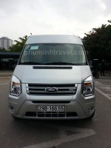 Cho thuê xe 16 chỗ giá rẻ tại Hà Nội